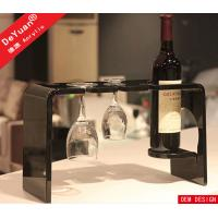 Wine Glass Holder Home Acrylic Display Stands Clear 280*155*170mm Manufactures