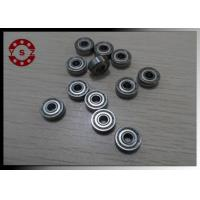 Thin Wall Single Row Grooved Ball Bearing Large Stock Low Vibration Manufactures