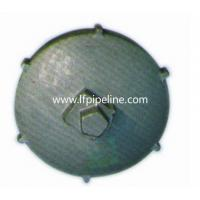 OEM custom casting products cast iron pipe end cap Manufactures