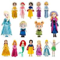 20 inch Original Disney Princess Dolls Cartoon Stuffed Plush Toys Manufactures