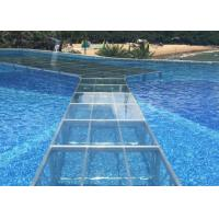 Heavy Duty Acrylic Stage Platform Transparent Plexiglass Fit Swimming Pool Manufactures
