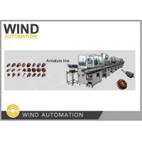 CE Armature Winding Machine Dc Commutator Motor Fully Automatic Production Line Manufactures