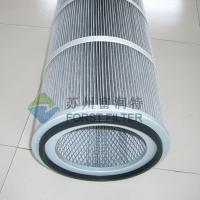China FORST Aluminum Pleated Industrial Polyester Air Filter Manufacturer wholesale