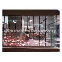 Transparent Indoor LED Display with 3.91 mm SMD1921 LED Light Weight for sale