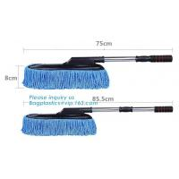 Auto wheel wool brush for washing wheel , car sheepskin cleaning brush, Rotating soft bristle car wash brush microfiber Manufactures