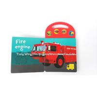 China Custom Mold Toy Trucks Baby Sound Books for Indoor Kid's Eductational Learning. on sale