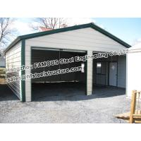 Metal garage pre engineered building steel structure for Pre engineered garage