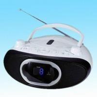 Portable CD Player with Built-in Stereo Speakers, Stereo FM Reception and Analog Tuning Manufactures