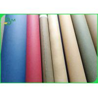 China Biodegradable Sewable Washable Kraft Paper Fabric 0.55mm Thick 150cm Width on sale