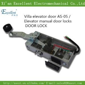 China elevator door lock / elevator lock / Manual elevator door lock/life door lock AS-05 on sale