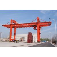Quality Movable Double Girder Gantry Crane 50Ton Container Cabin Pendant Remote Control for sale