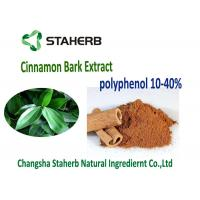 Kosher Antioxidant Dietary Supplement Cinnamon Bark Extract 10-30% Cinnamon Polyphenols Manufactures