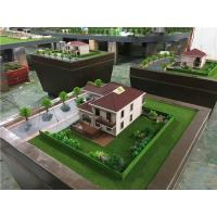 80x80cm Diorama Architect Model For Single Villa , Market Scale 3d Model For Real Estate Manufactures