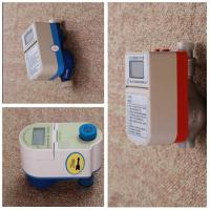 Quality Prepaid Digital Intelligent Water Meter , Elecrical Multi Jet Smart Water Meter for sale
