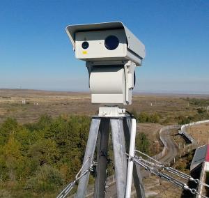 China 1920*1080 1KM Long Range Night Vision Security Camera With 808nm IR Illuminator on sale