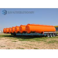 High Capacity International Goose Neck Oil Tank Trailer 45000L 3 Axle Manufactures