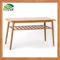China Modern Table Bamboo Table with Carbonized Bamboo Manufactures