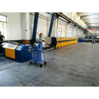 High Efficiency Welding Wire Drawing Machine , 10m / S Speed Wire Manufacturing Machine Manufactures