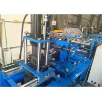 Metal Steel Guider Rail Rolling Shutter Machine For Door , 0.8-1.0mm Thickness Manufactures