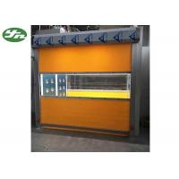 China Intelligent  Cleanroom Air Shower / Cargo Air Shower With PVC Curtain Roller Fast Shutter Door on sale