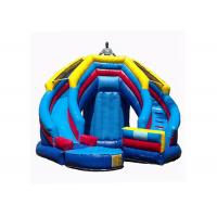 Versatile Kids Inflatable Jumping Castle , Inflatable Toy Castle Combo Bounce House Manufactures
