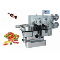 China Luxury Custom Made Rectangle Candy Twist Packing Machine Hihg Speed 220-500pcs / Min on sale