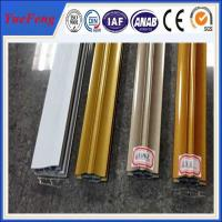 Quality 6063 t5 aluminum profiles custom products triangle pipe / electrophoresis for sale