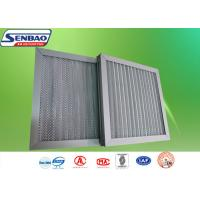 China Pre Efficiency Aluminum Frame HVAC Air Filters with Aluminum Mesh Washable Air Filter on sale