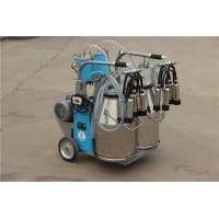9JYT-8 Twin Buckets and Piston Pump Electric motor-driven mobile cow milking machine Manufactures