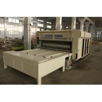 Normal Carton Corrugated Carton Box Printing Machine With Slotter Unit Manufactures