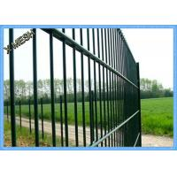 China Twin 868 Standard Double Welded Wire Fence Panels Square Hole Electro Galvanized on sale