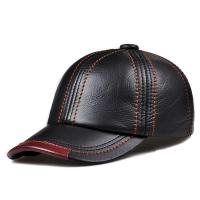 PU Leather Summer Baseball Hats Casual Outdoor Petten Bone Trucker Caps Round Visor Manufactures