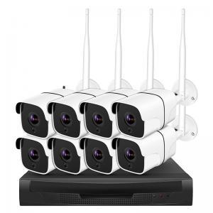 China 720p 1080p Wireless Ip Surveillance Camera 4ch 8ch Nvr Kits With Cloud Service on sale