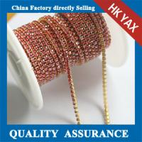 China single 6mm rhinestone cup chain,rhinestone cup chain wholesale,china factory rhinestone cup chain on sale