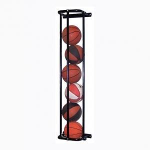 Vertical 6 Or 12 Basketballs Storage Sport Equipment Racks Wall Mounted Manufactures
