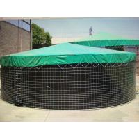 Large wire mesh storage water tank with cover for irrigation Manufactures