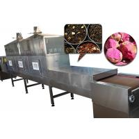 China 120KW Microwave Flower Dryer Machine No Pollution With Less Energy Consumption on sale