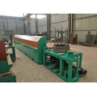 High Carbon Steel Fine Wire Drawing Machine , 380 V 11KW Automatic Wire Drawing Machine Manufactures