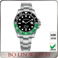 Colorful Smile Beautiful Stainless Steel Dive Watches For Women OEM / ODM Avaliable Manufactures