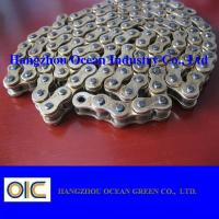 China ISO / DIN / ANSI Four Side Punch Motorcycle Chains 420 428 428H 520 530 630 on sale