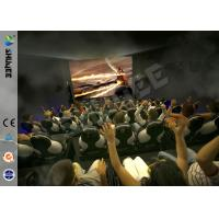 China Most Popular 5D Cinema Animation Movies , 5D Theater Movie With Bubble , Rain , Wind Special Effect on sale