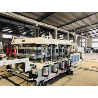 Construction PVC Foam Board Extrusion Line 3 - 30mm Product Thickness 600kg/H Max Capacity Manufactures