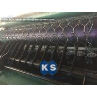 Custom OEM Gabion Box Machine / Galvanized Iron Hexagonal Wire Mesh Machine Manufactures