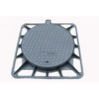 Double seal ductile iron D400 water square manhole cover and frame Manufactures