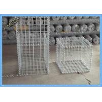 Low Carbon Iron Wire Welded Wire Gabion Baskets Retaining Wall 1 X 1 X 1 Meters Manufactures