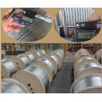 3 8 Inch Galvanized Guy Wire ASTM A 475 EHS With Wooden Reel Packing Manufactures
