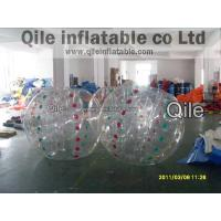 1.0mm PVC Bubble Football Inflatable Body Zorb Ball For Summer Fun Manufactures