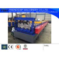 Trough Closed Lader Metal Deck Roll Former Machine With Hydraulic Station Customizable Manufactures