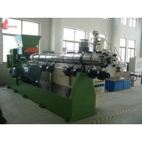 China PS / ABS / PVC single screw extruder machine with Inverter motor on sale