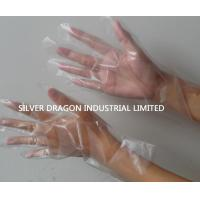 Clear Disposable gloves, embossed, Size S,M,L Manufactures